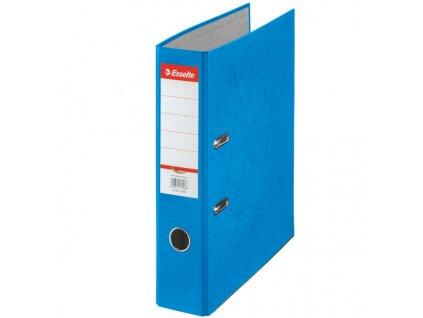 Pořadač A4 pákový kartonový Rainbow - hřbet 7,5 cm / modrá