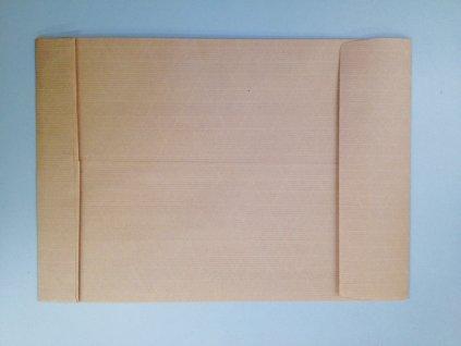 Obchodní tašky s křížovým dnem neroztrhnutelná samolepicí - B4