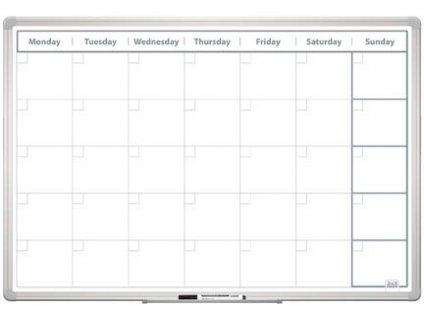 Plánovací tabule - měsíční 60 x 90 cm