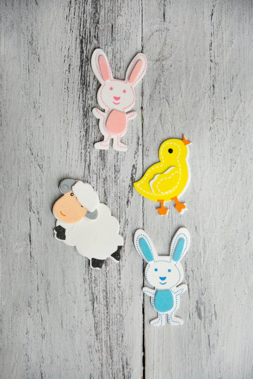 Nálepky z pěnovky Velikonoce