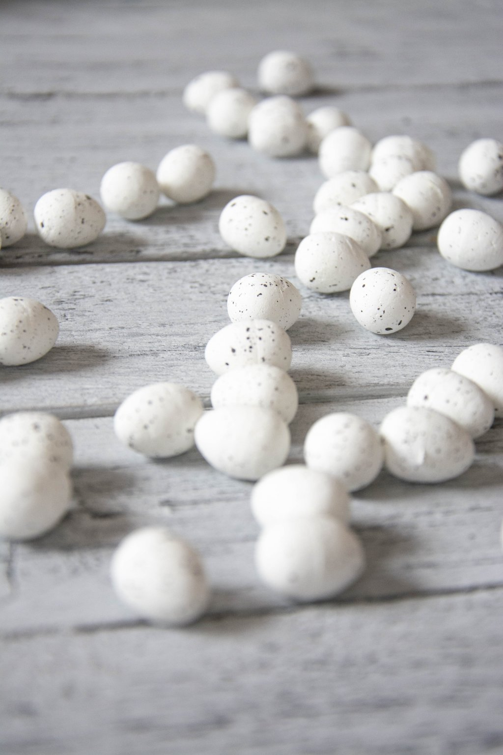 Velikonoční vajíčka křepelčí bílá
