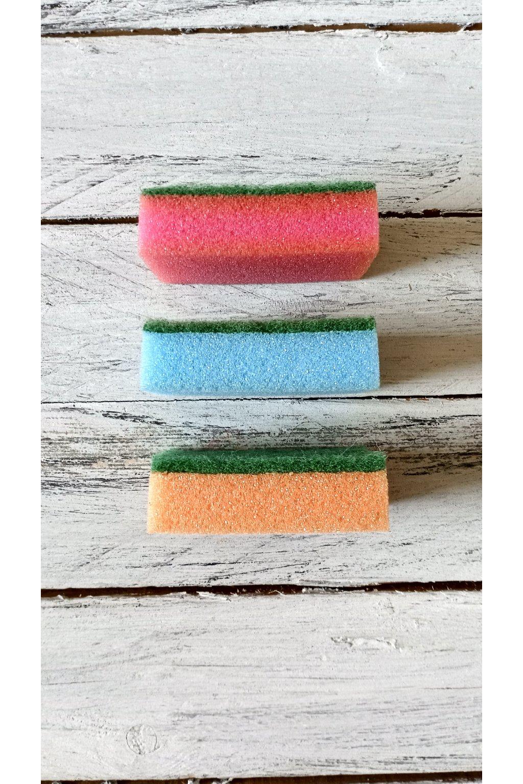Houbička na patinování výrobků pletených z papíru