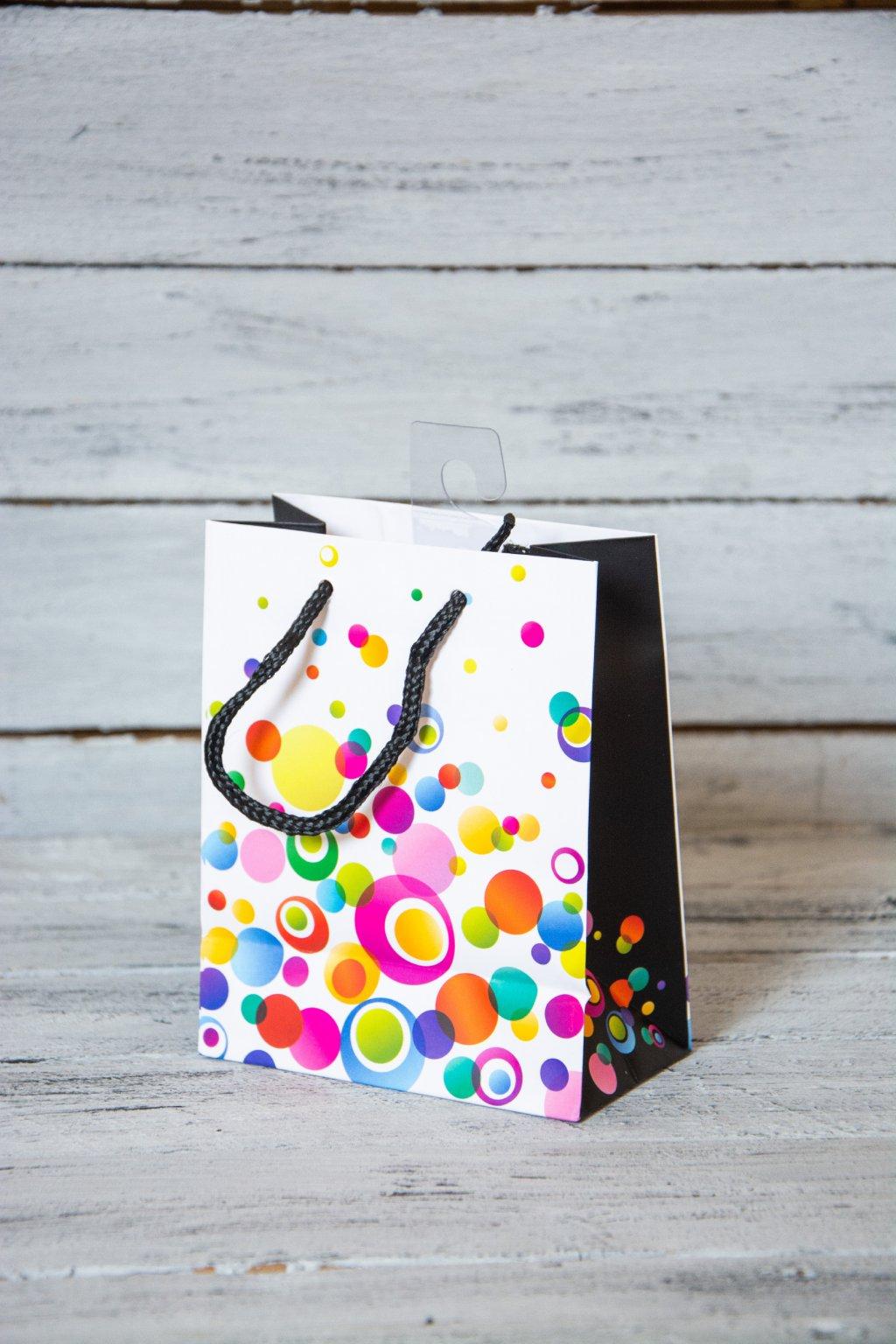 dárková taška Rozměr 11,4 x 6,4 x 14,6 mm