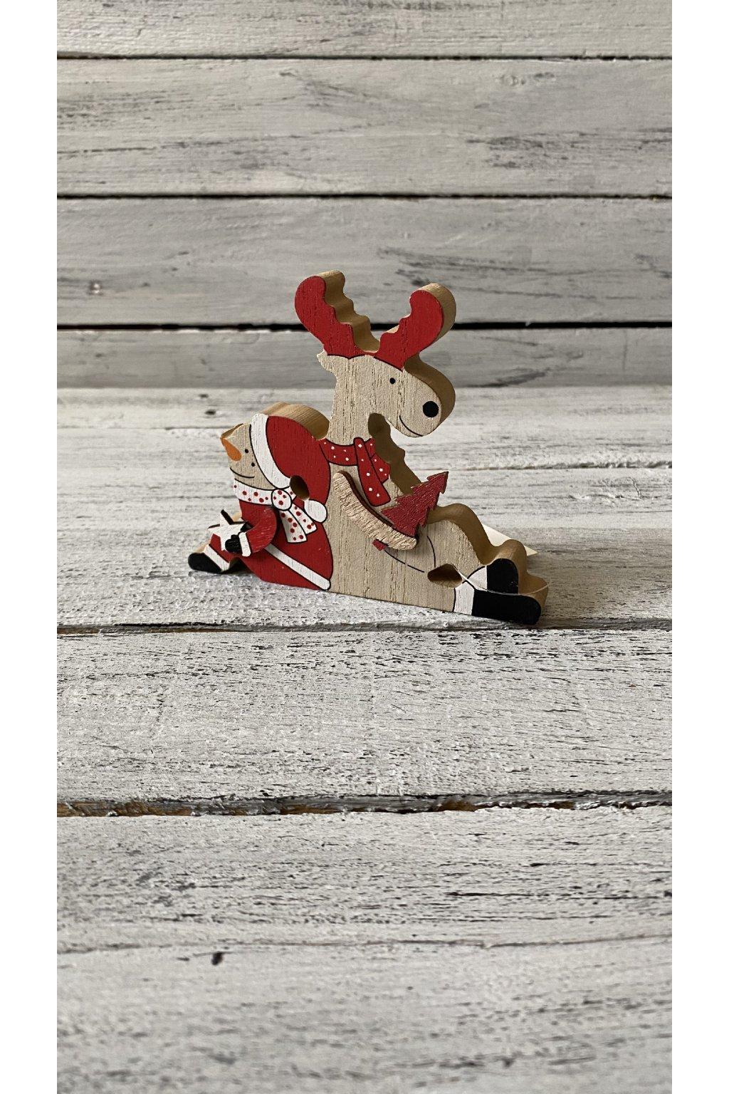 vánoční dekorace Rozměr: 12 x 10 cm tl. 1,5 cm