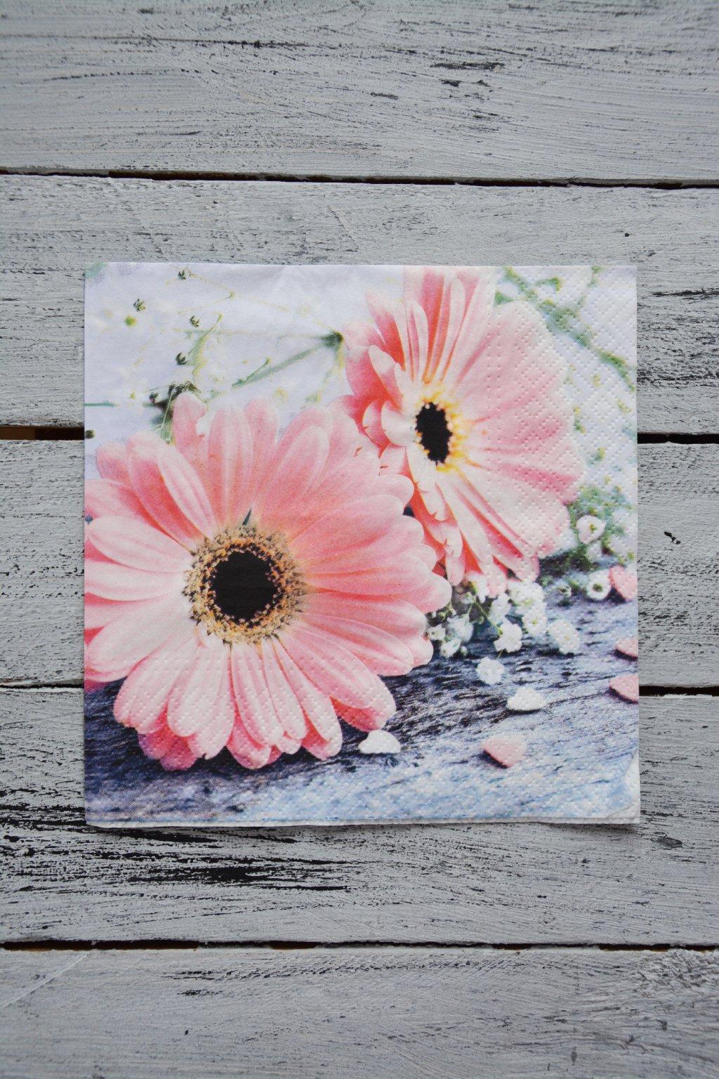 Květiny - Gerbery