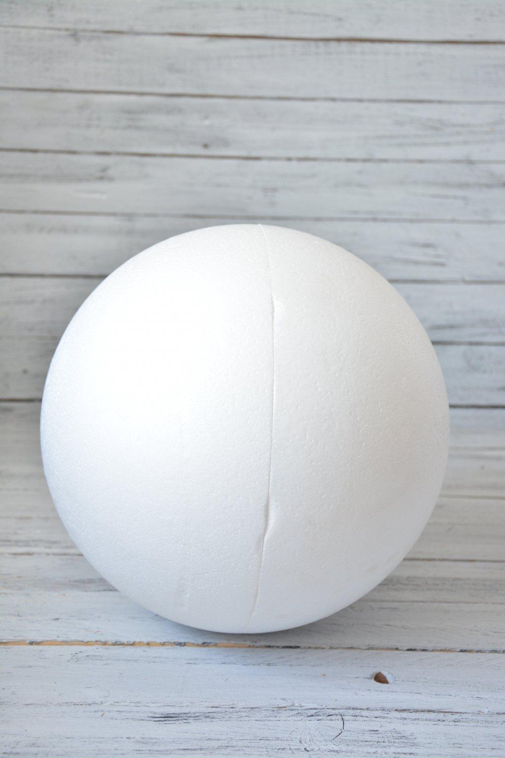 Polystyrenové koule 2 díly