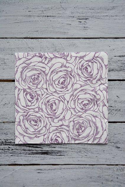 Růže lineární