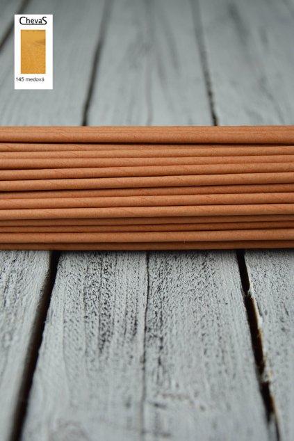 Papírové ruličky na pletení barva Chevas medová