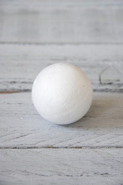 Polystyrenová koule průměr 5 cm.