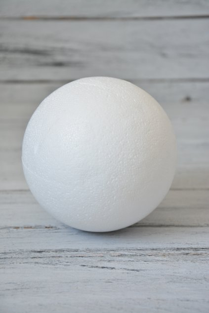 Polystyrenová koule ø 12 cm