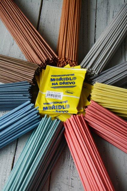 Mořidla firmy Chevas vhodná na dřevo a papírové ruličky