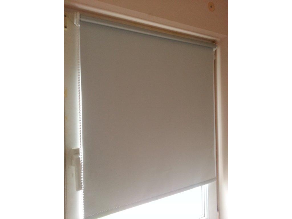 Látková roleta - bílá 80x150cm