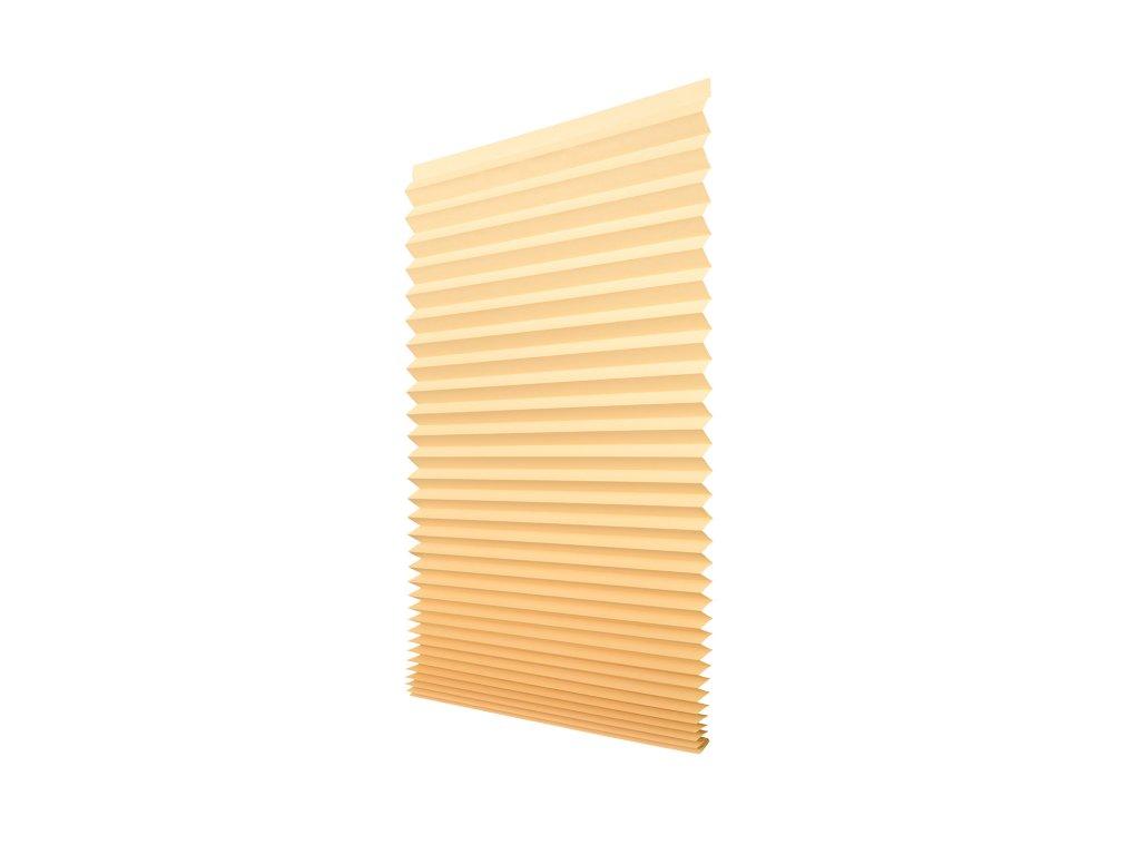 Papírová žaluzie plisé - béžová (přírodní) 100x200cm
