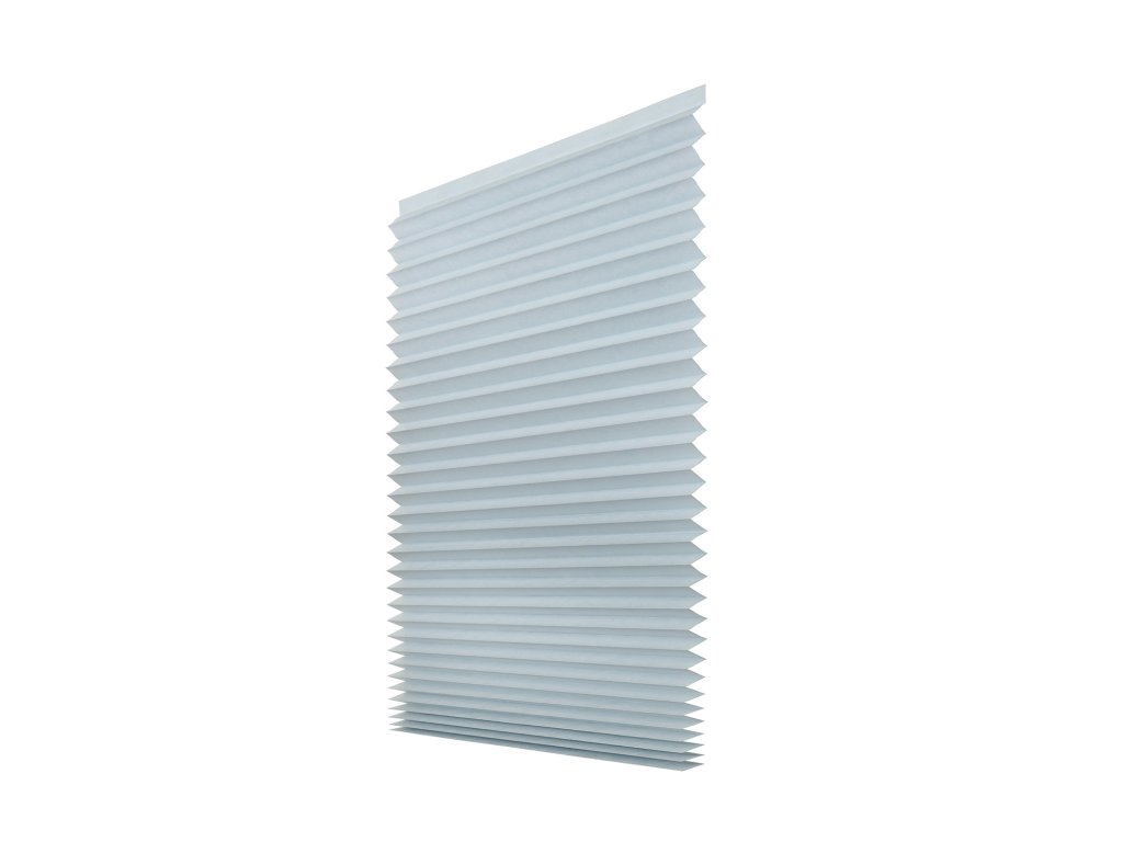 Papírová žaluzie plisé - šedá 80x180cm