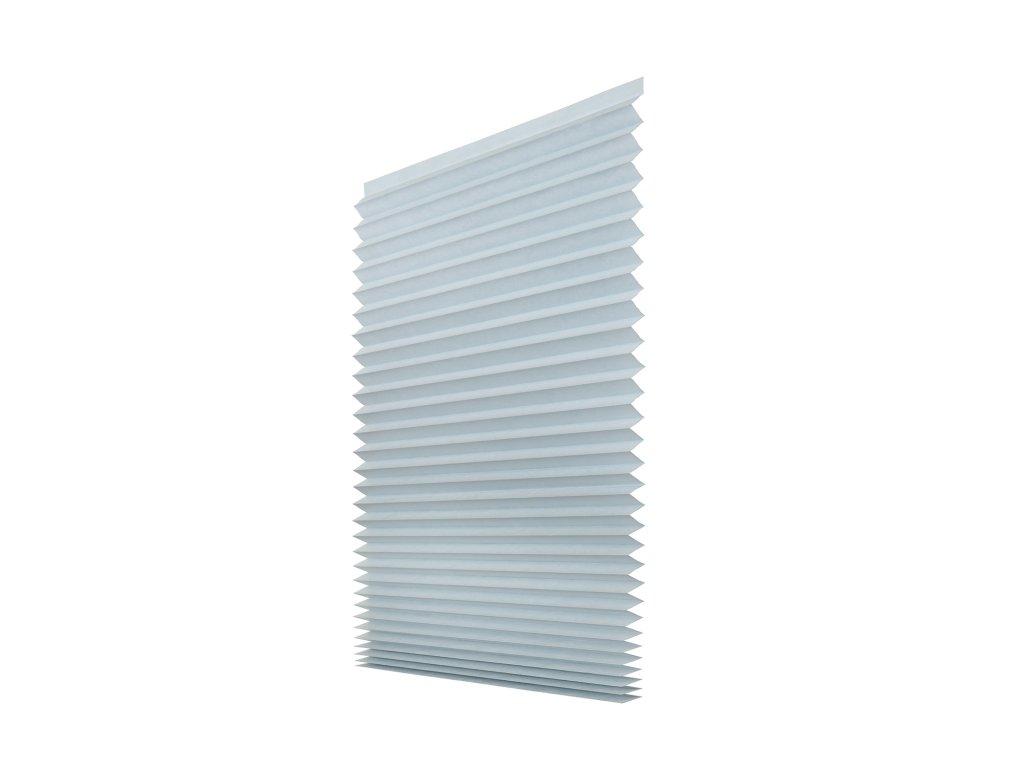 Papírová žaluzie plisé - šedá 100x200cm