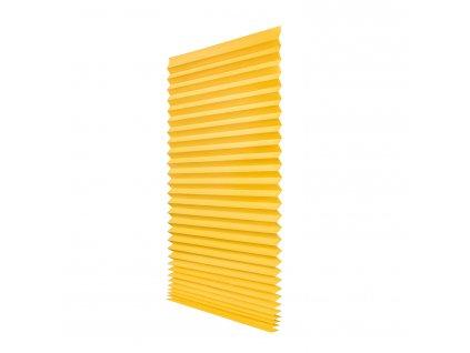 Papírová žaluzie plisé - krémová 100x200cm