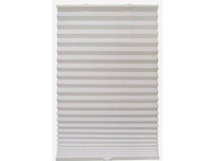 Plastová žaluzie plisé - bílá 90x180cm (šířka 58 až 90 cm - univerzální)
