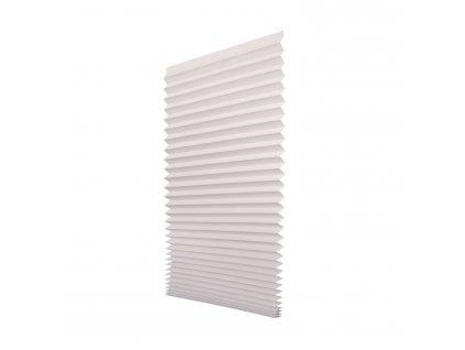 Papírová žaluzie plisé - bílá 100x200cm