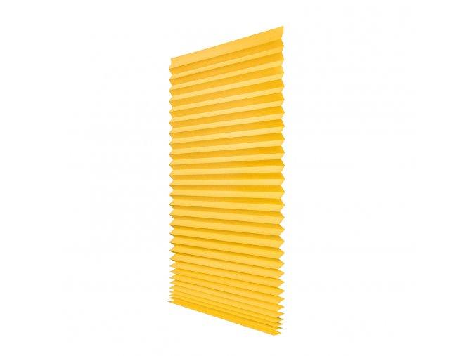 Papírová žaluzie plisé PAPL - krémová 100x200cm