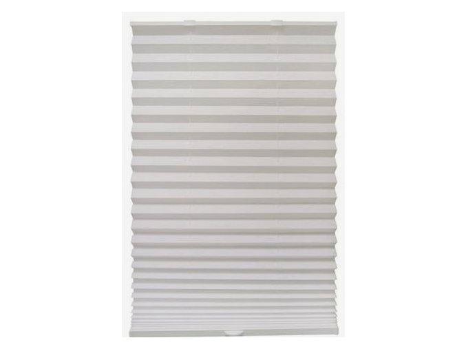 Plastová žaluzie plisé PAPL - bílá 90x180cm (šířka 58 až 90 cm - univerzální)