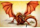 Fantasy pohlednice
