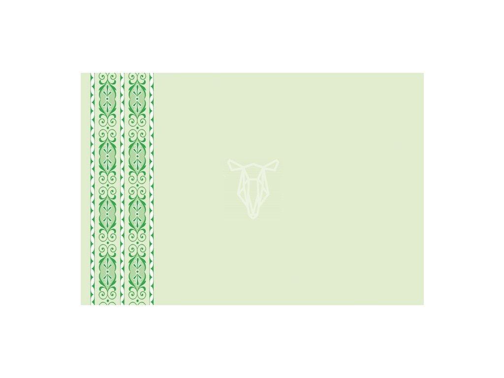 obalka zelený vzor