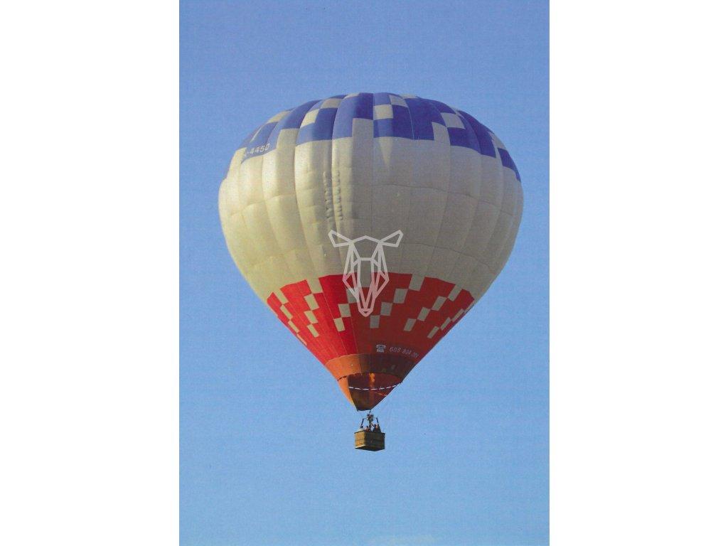 13913 pohlednice horkovzdusny balon
