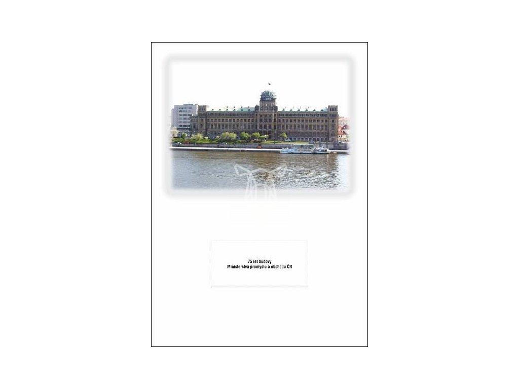 905 pohlednice 75 let budovy ministerstva prumyslu a obchodu cr