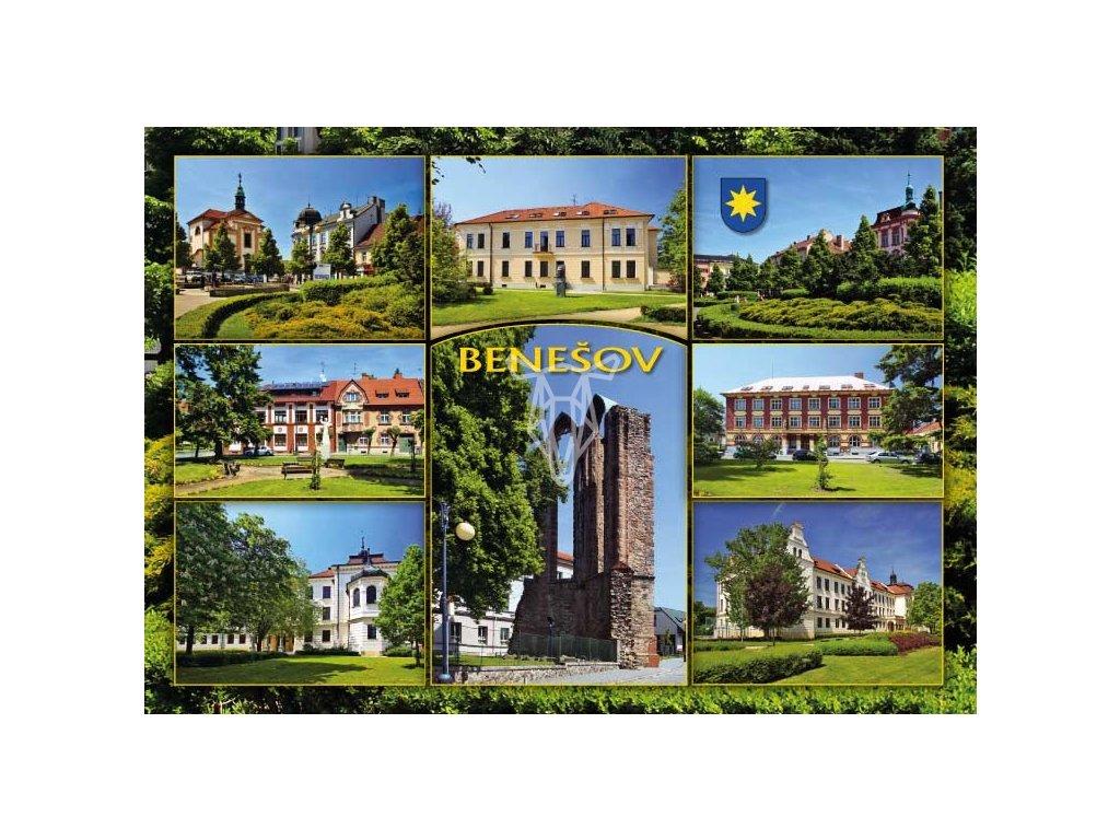 16193 1 pohlednice benesov