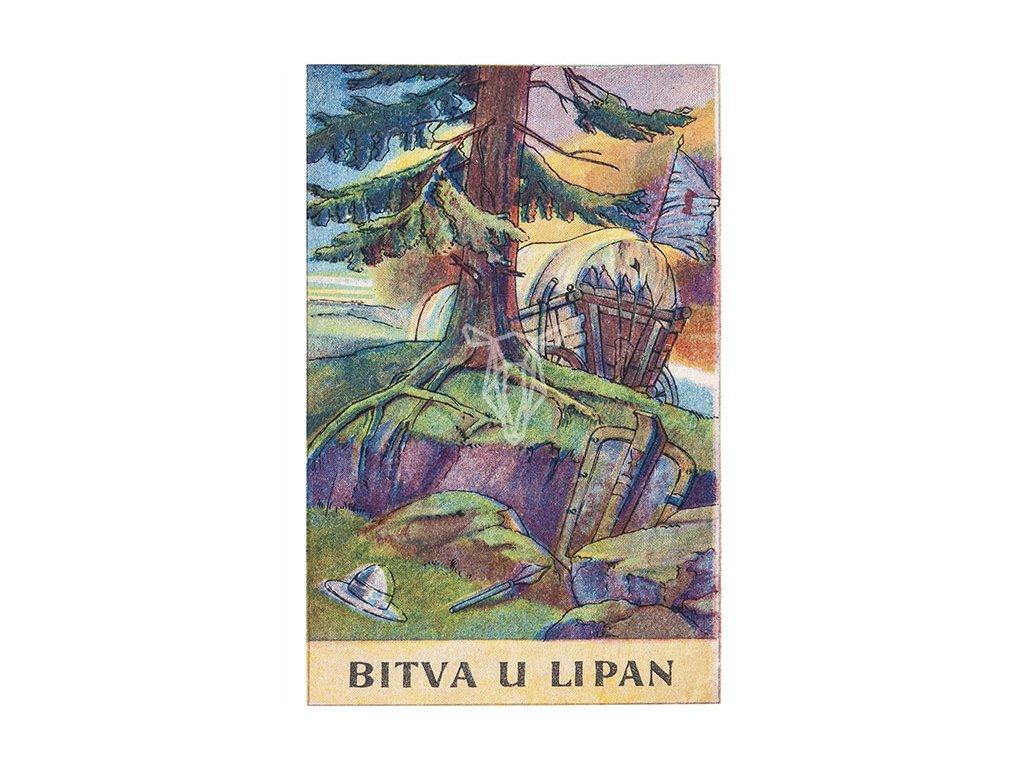 13670 3 pohlednice bitva u lipan