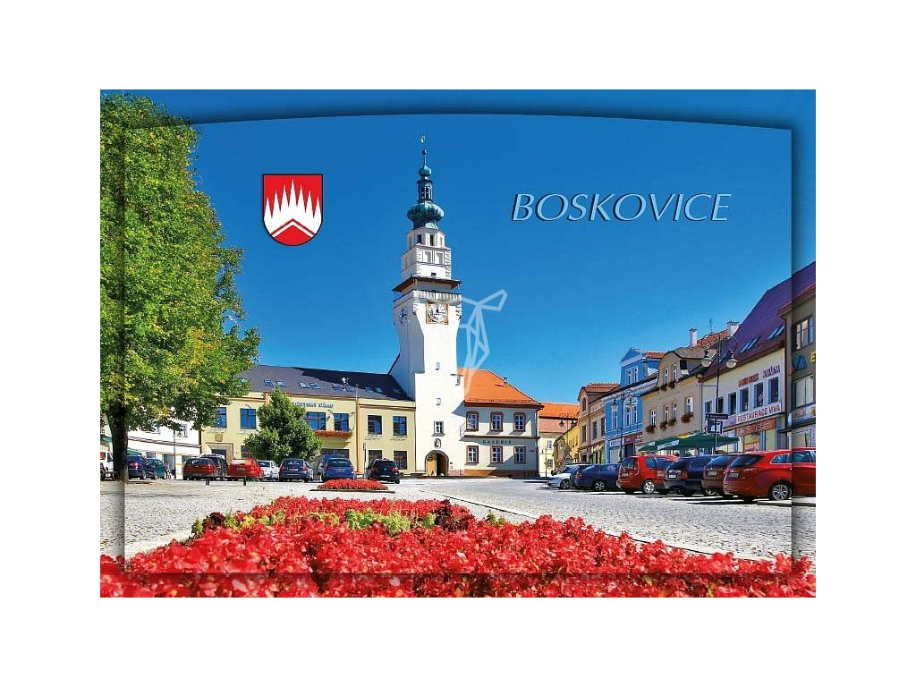 1106 pohlednice boskovice