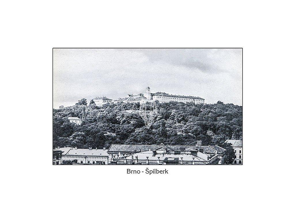 9896 1 pohlednice brno spilberk