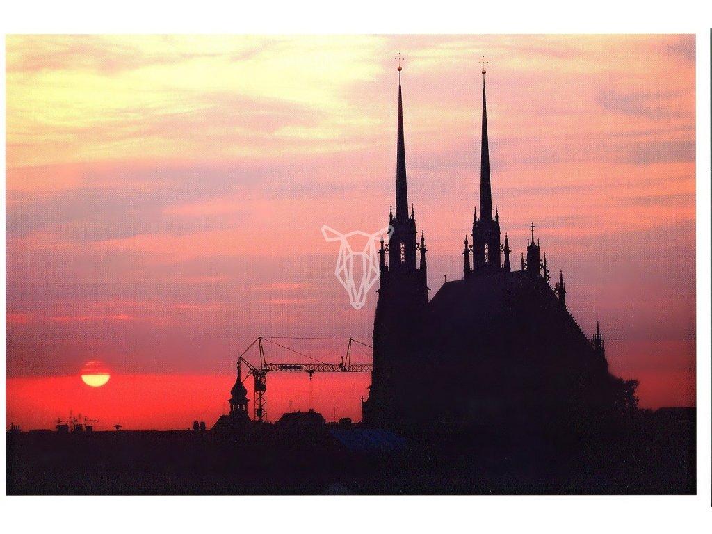 182 pohlednice brno vychod slunce 2