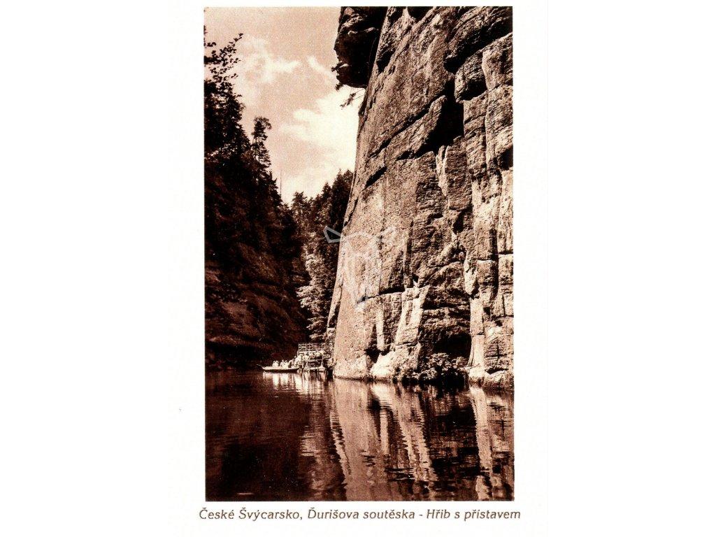 809 pohlednice ceske svycarsko durisova souteska