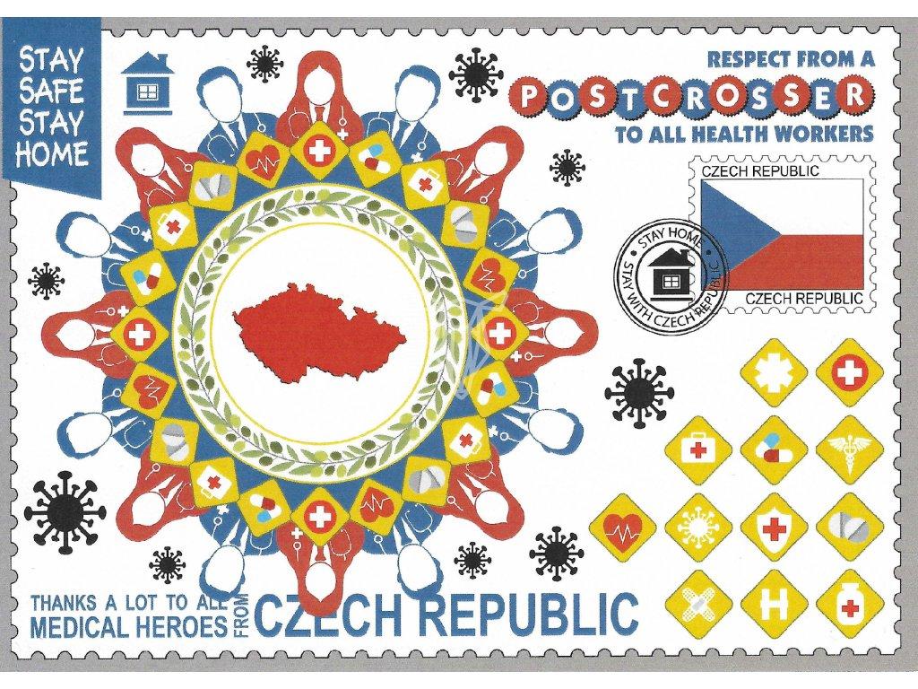 14972 2 pohlednice cesko stay safe stay home koronavirus