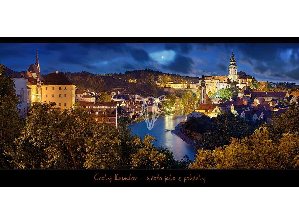 1352 pohlednice cesky krumlov mesto jako z pohadky