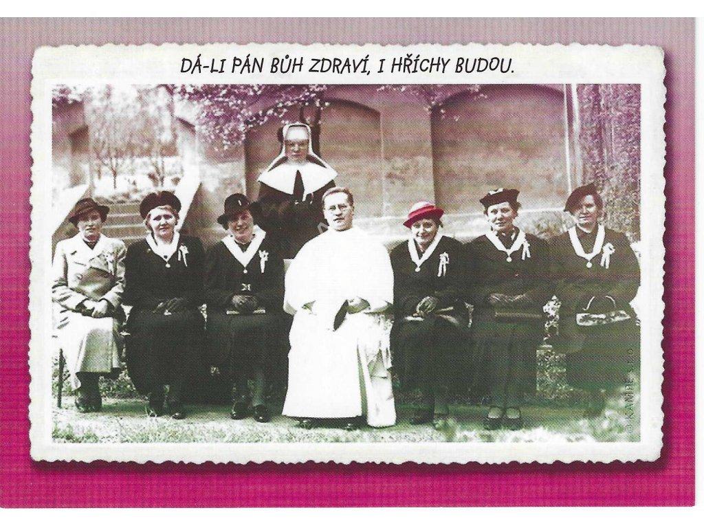 17153 pohlednice da li pan buh zdravi