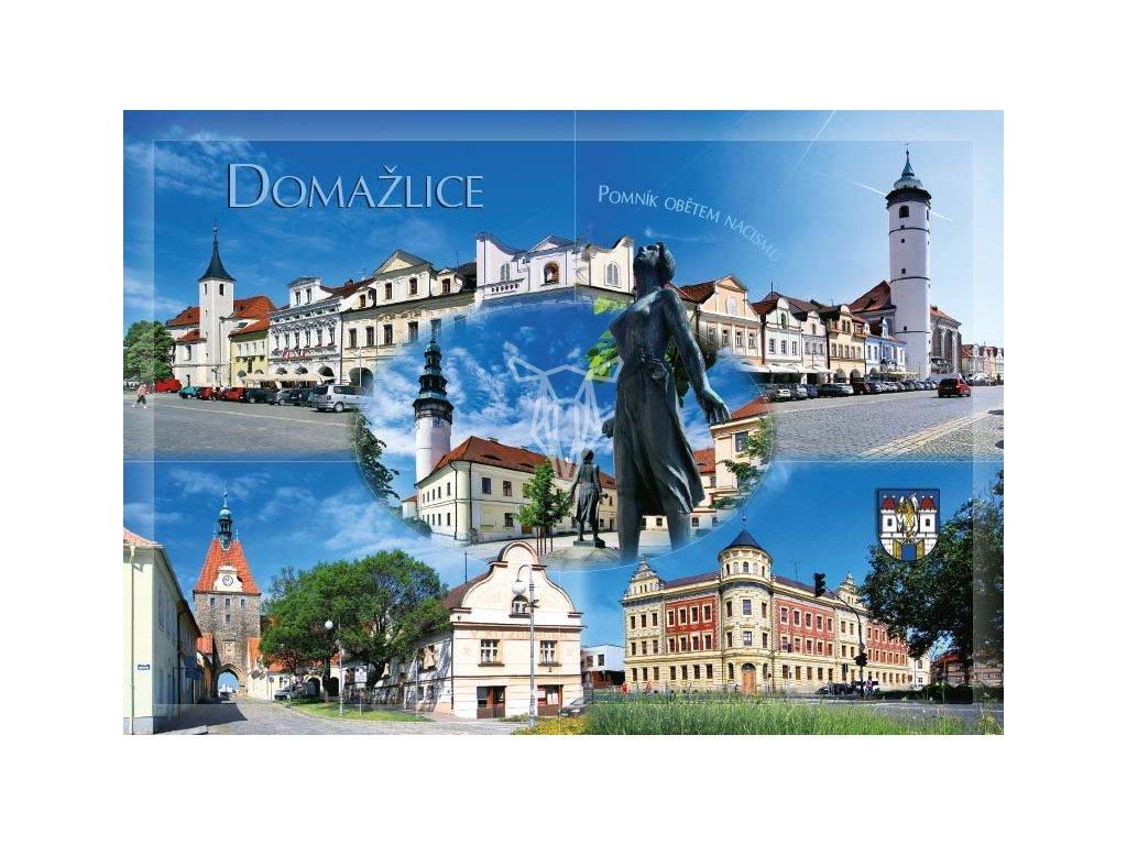 16283 pohlednice domazlice