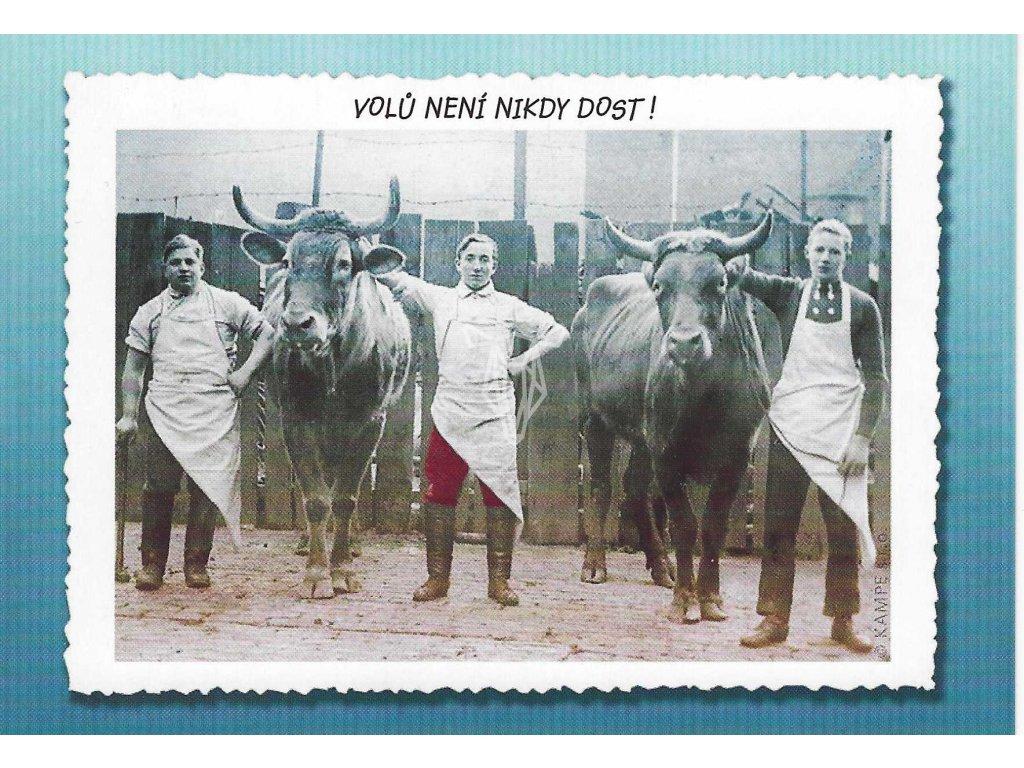 14375 2 pohlednice dost volu