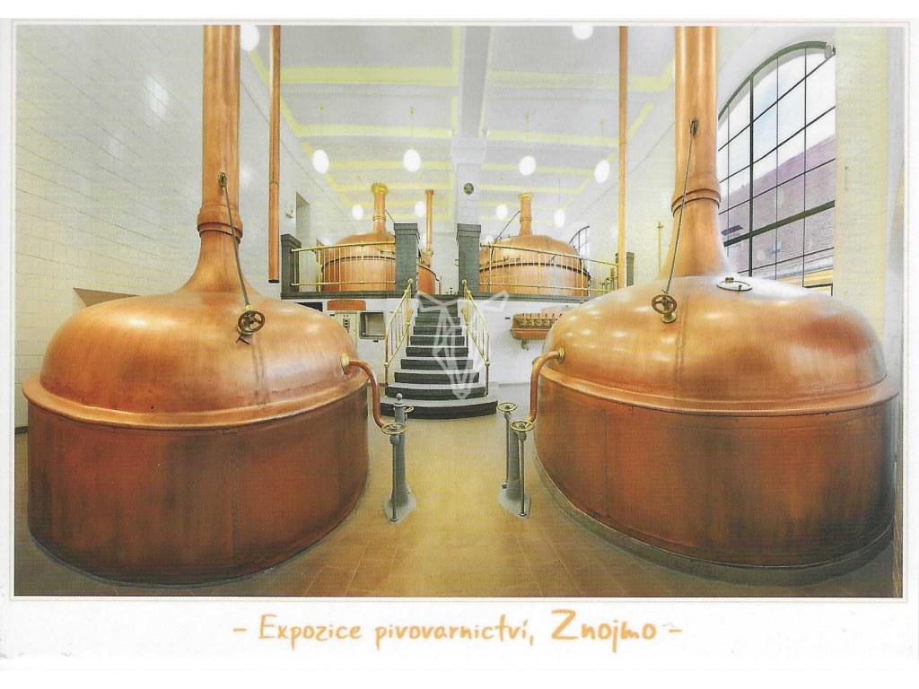 13310 3 pohlednice expozice pivovarnictvi znojmo 10 5 x 15 cm