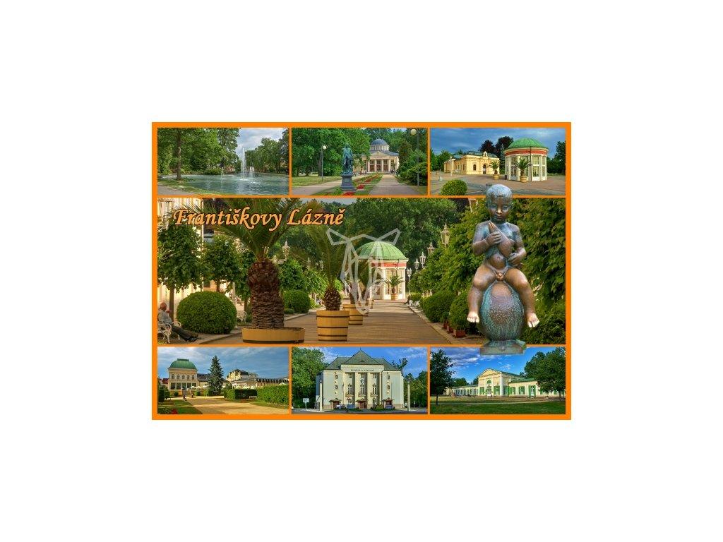 13808 2 pohlednice frantiskovy lazne 1