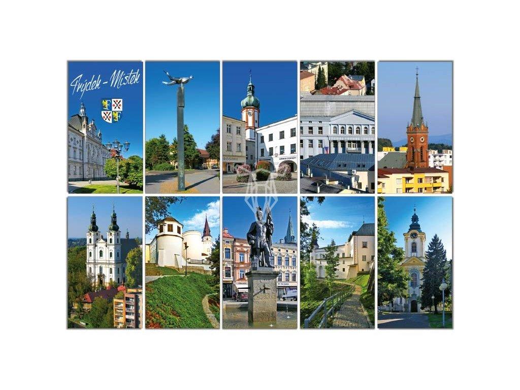 16232 pohlednice frydek mistek