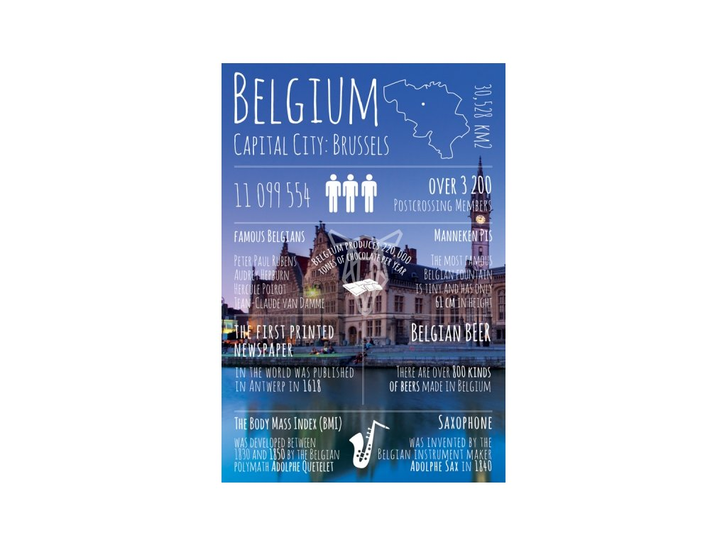 17810 pohlednice greetings from belgium