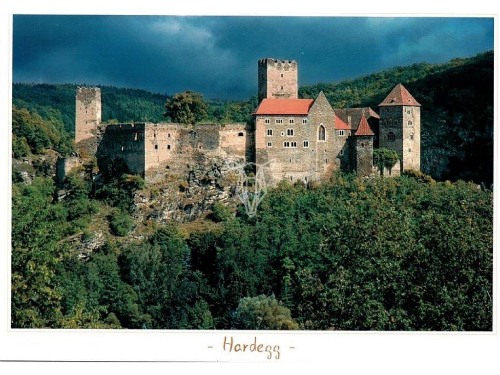 1424 pohlednice hardegg
