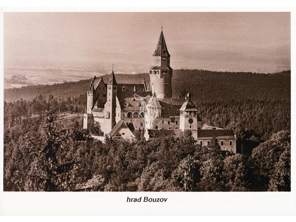 4538 1 pohlednice hrad bouzov