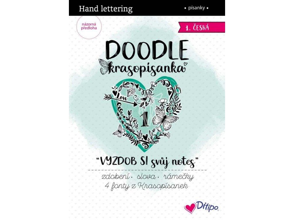 doodle krasopisanka vyzdob si svuj notes
