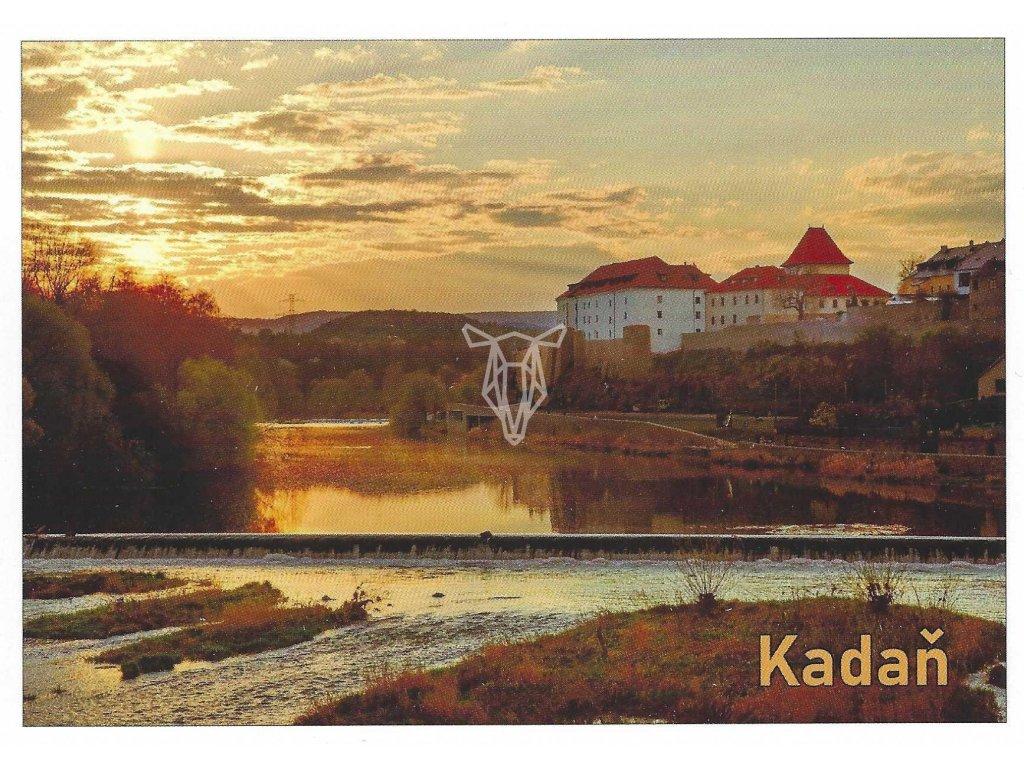 15848 3 pohlednice kadan