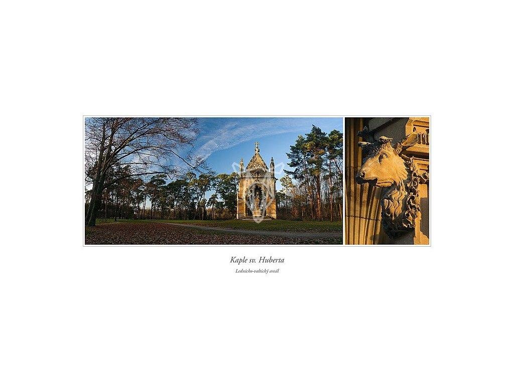 542 pohlednice kaple sv huberta siroka