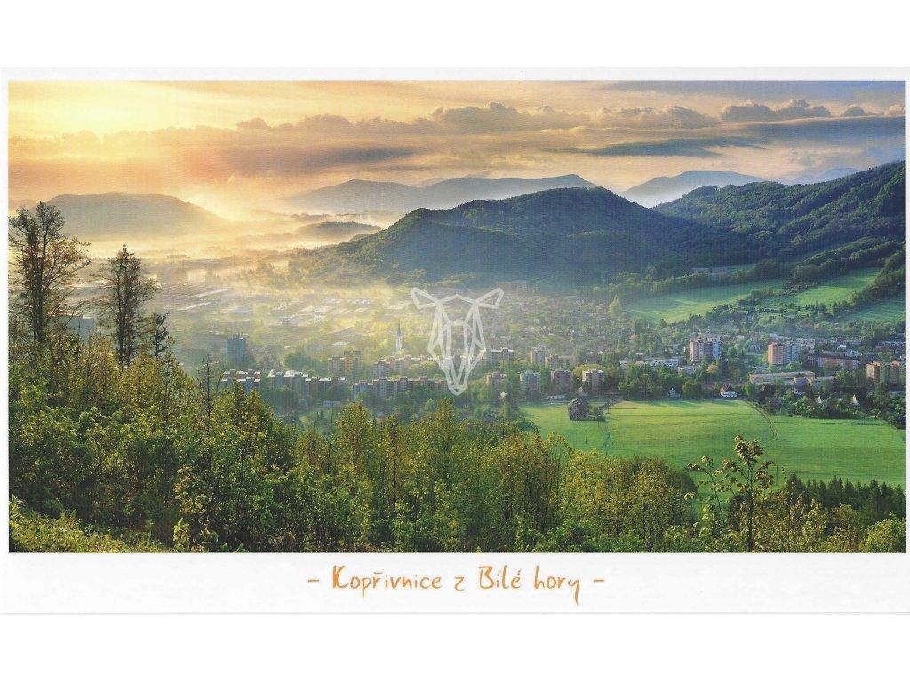 866 3 pohlednice koprivnice z bile hory 21 x 12 5cm