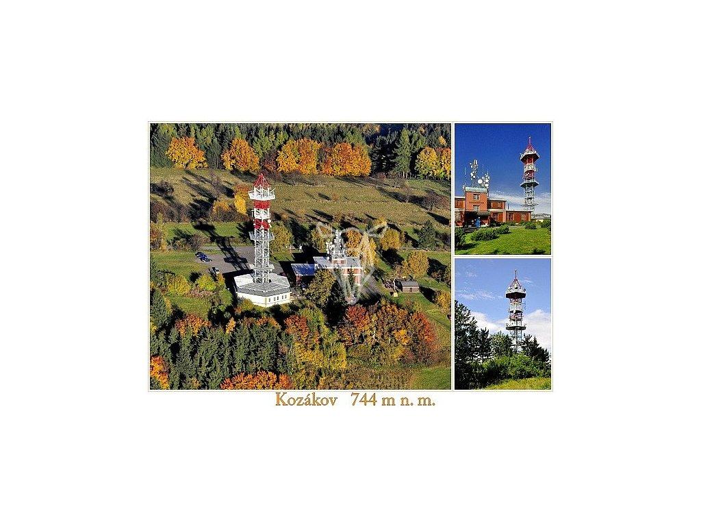 1109 2 pohlednice kozakov 1